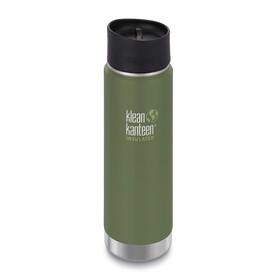 Klean Kanteen Insulated Wide Café Bottle 20oz (592 ml) Vineyard Green